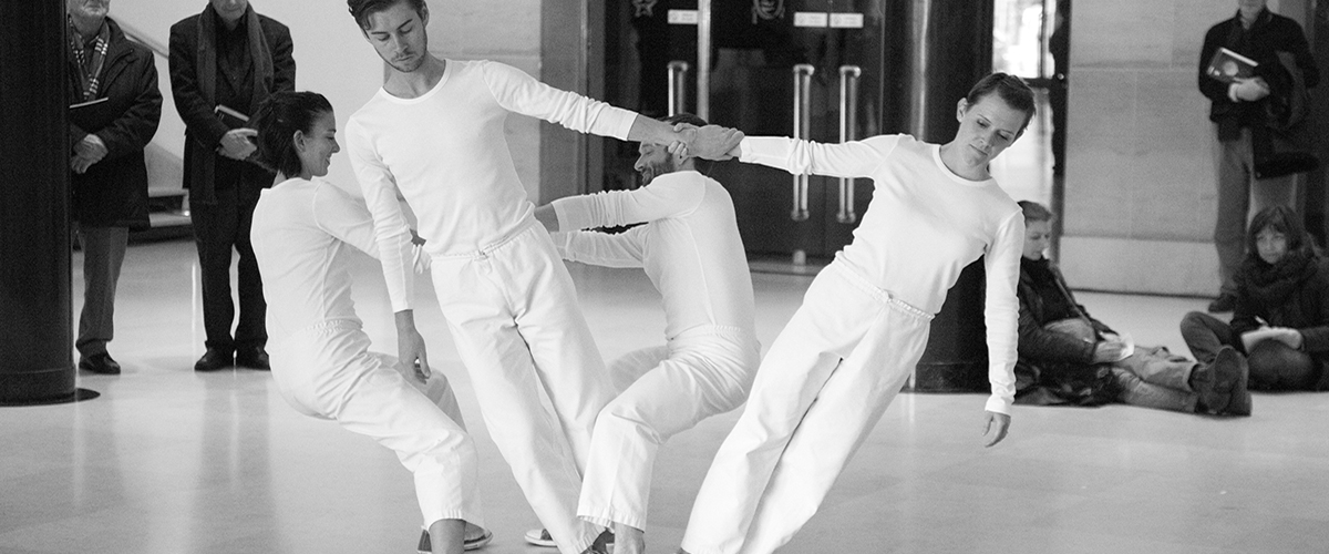 Taller de danza con the Trisha Brown Dance Company